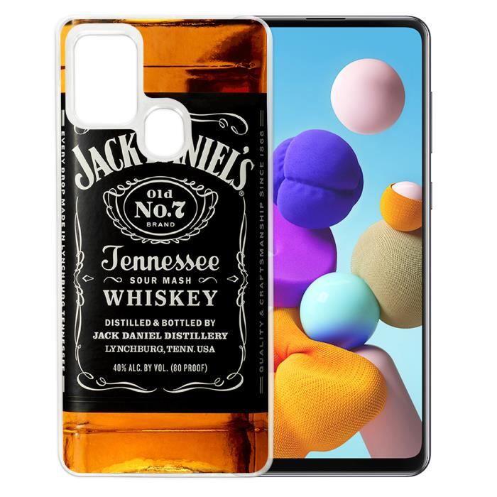 Coque pour Samsung Galaxy A21s - Jack Daniels Bou