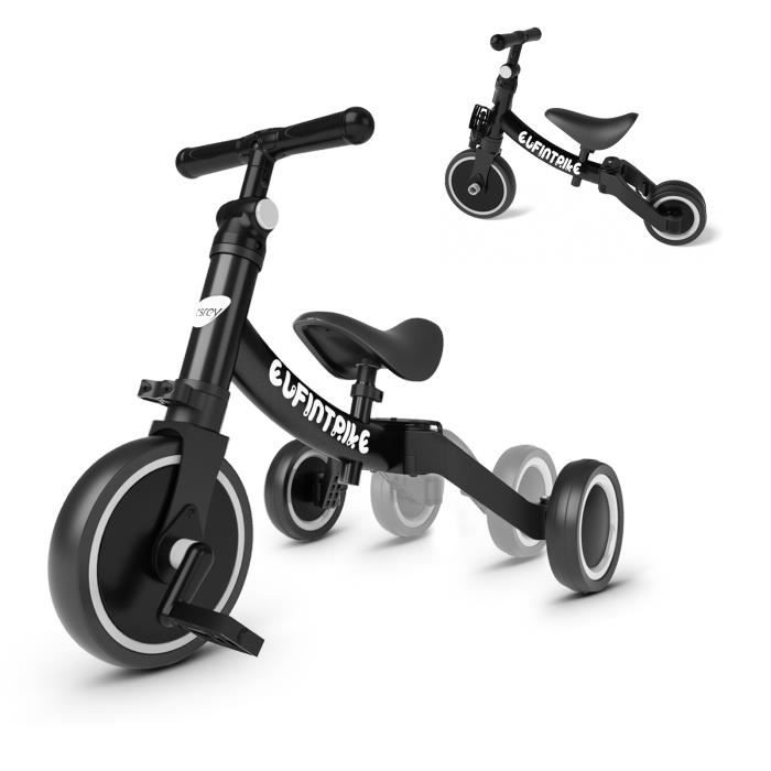 Tricycle besrey 5 en 1 Tricycle Vélo Draisienne pour Enfant