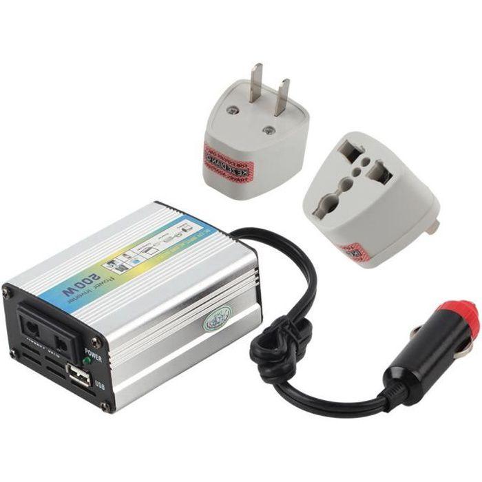 DC 12V-220V voiture Auto Power Inverter Convertisseur adapteur USB 200W