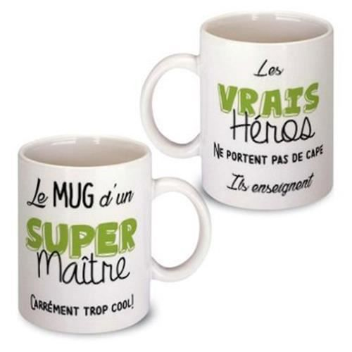 mug maitre achat vente mug maitre pas cher cdiscount. Black Bedroom Furniture Sets. Home Design Ideas