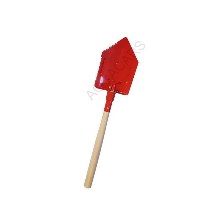 En bois Tête Ronde micro pelle 700 mm pelleter de creuser des fossés Outil à Main Nouveau