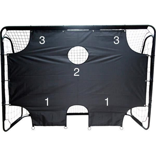 cage de football avec cible achat vente pas cher cdiscount. Black Bedroom Furniture Sets. Home Design Ideas