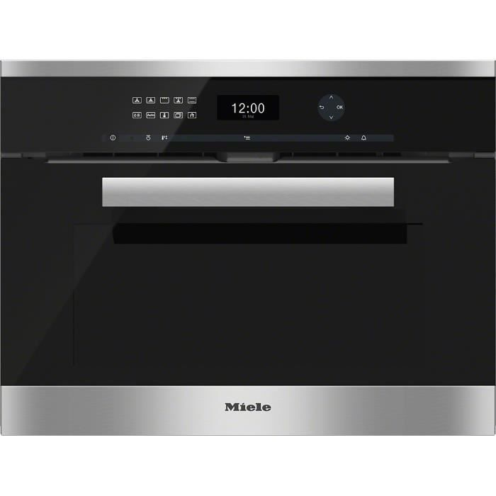 miele h 6401 bp cs four compact encastrable a achat. Black Bedroom Furniture Sets. Home Design Ideas