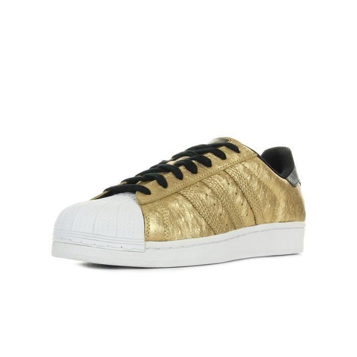 Baskets adidas Originals Superstar Doré, blanc, noir - Cdiscount ...
