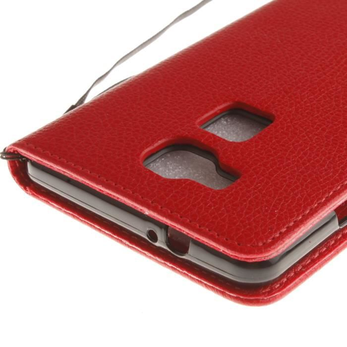 huawei mate 7 coque rouge
