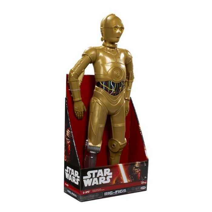 figurine star wars c3po achat vente jeux et jouets pas chers. Black Bedroom Furniture Sets. Home Design Ideas