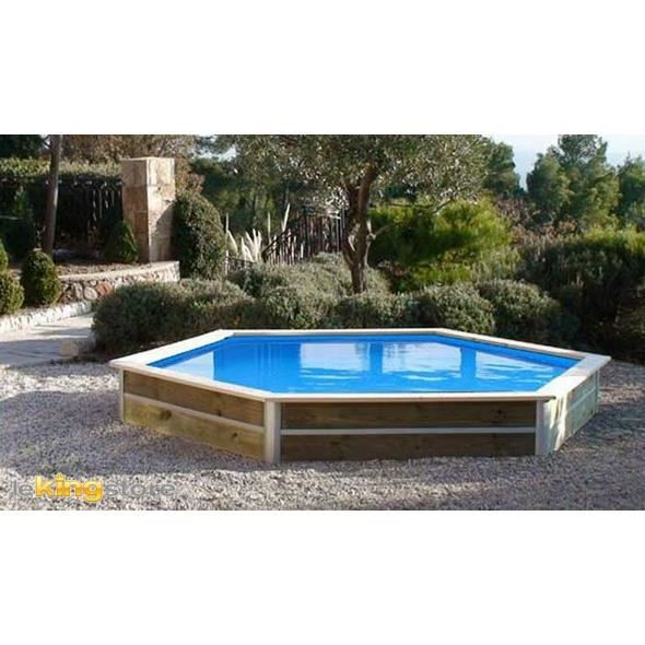 Piscine bois ronde waterclip baby 430 x 40cm achat for Piscine bois pau