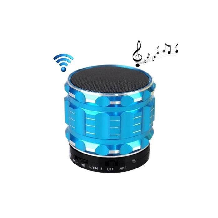 ENCEINTE NOMADE Enceinte Bluetooth d'intérieur S28 Mobile Metal St