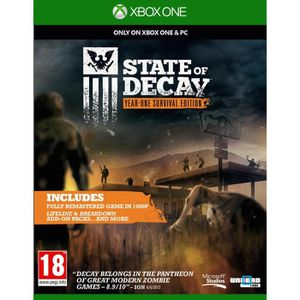 JEUX XBOX ONE State of Decay Jeu Xbox One