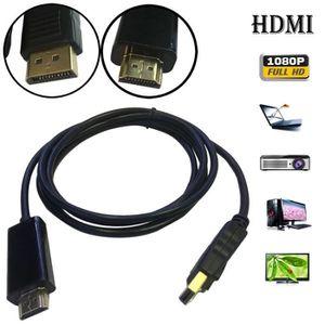 CÂBLE AUDIO VIDÉO 1.8M Displayport Display Port DP vers HDMI mâle à