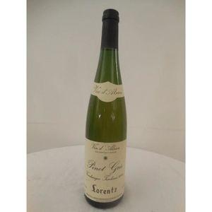 VIN BLANC pinot gris lorentz vendanges tardives liquoreux 20
