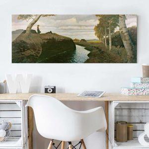 CADRE PHOTO 40x100 cm image en verre - imprime otto modersohn