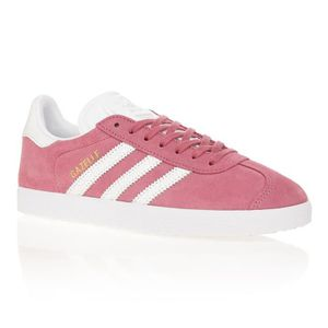 8d85f7586f94 BASKET ADIDAS ORIGINALS Baskets Gazelle - Femme - Rose