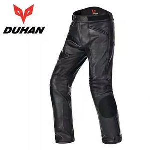 VETEMENT BAS Pantalon de moto pour hommes en cuir PU imperméabl
