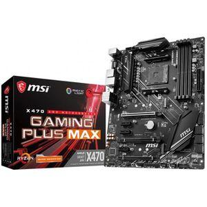 CARTE MÈRE Carte Mère MSI X470 Gaming Plus Max - AM4 ATX AMD