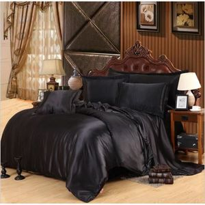 housse de couette en soie achat vente housse de. Black Bedroom Furniture Sets. Home Design Ideas