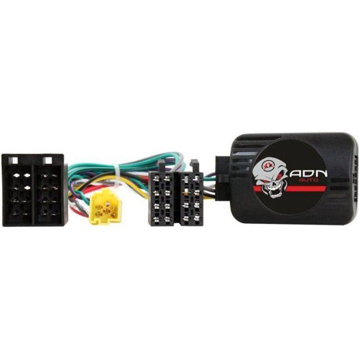 Interface Cde au Volant Renault ap00 ISO Avec ecran deporte Pioneer/ Sony - ADNAuto - ADN-CAV