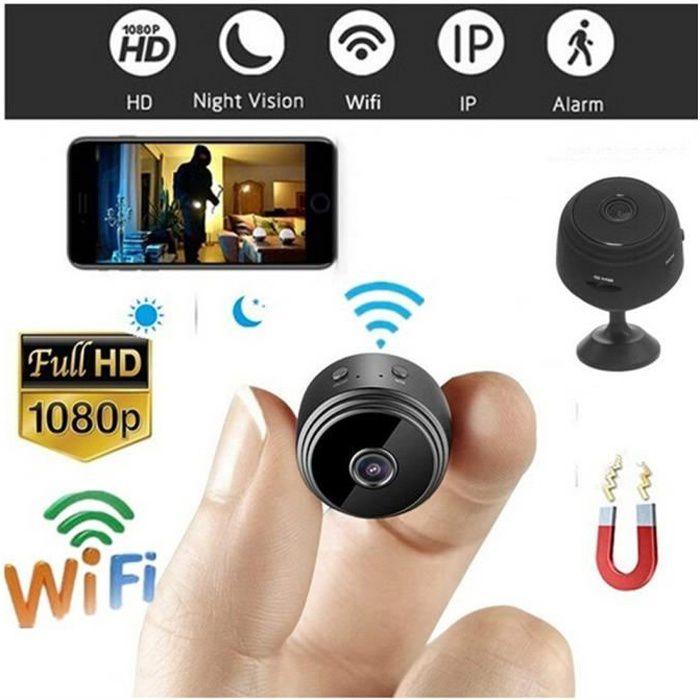 HD 1080P Mini Caméra Sans Fil Wifi Caméra De Sécurité Vision Nocturne Détection de Mouvement