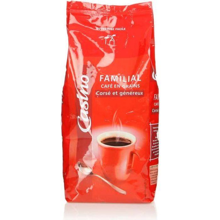 Café en grain - Corsé et généreux - 1 kg