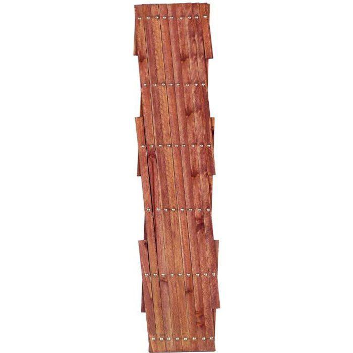 Panneau treillis en bois ajouré 1,80x1,20m