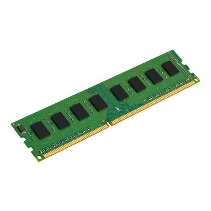 Kingston Mémoire Pc Ddr3 8 Go Dimm 240 broches 1333 Mhz / Pc3 10600 Cl9 1.5 V Mémoire sans tampon Non Ecc