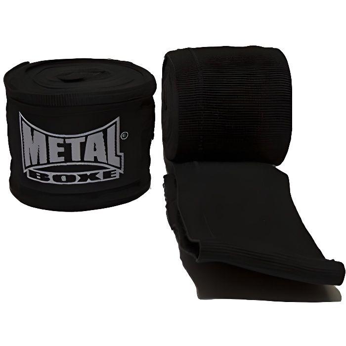 METAL BOXE Bande de Boxe 2.50 - Noir