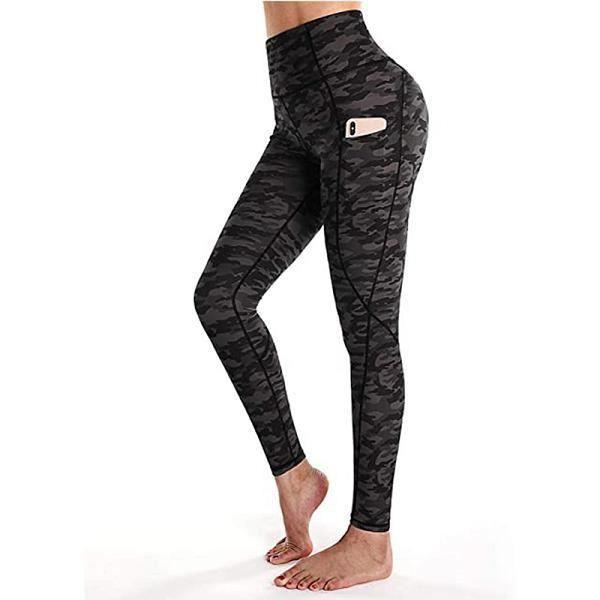 Pantalon de yoga femme,Leggings Sport femme Fitness Leggings sans couture pour vêtements de Sport collants femme Legging de gymnast