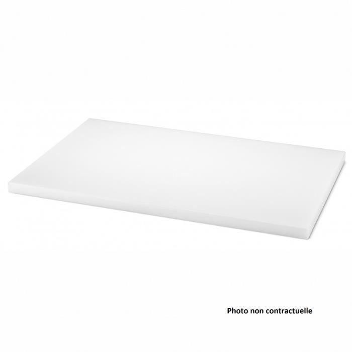 Planche à Découper Polyéthylène Haute Densité 600 x 400 mm - Plusieurs Couleurs - Pujadas -   Vert