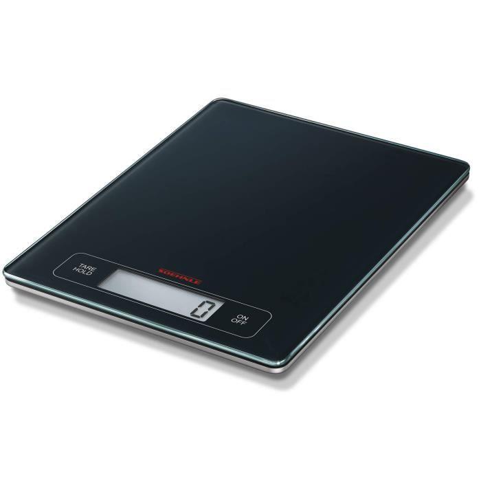 Soehnle Balance Électronique Page Profi, pèse aliment écran large multi fonctions Tare & Hold, balance alimentaire capacité 15 kg,