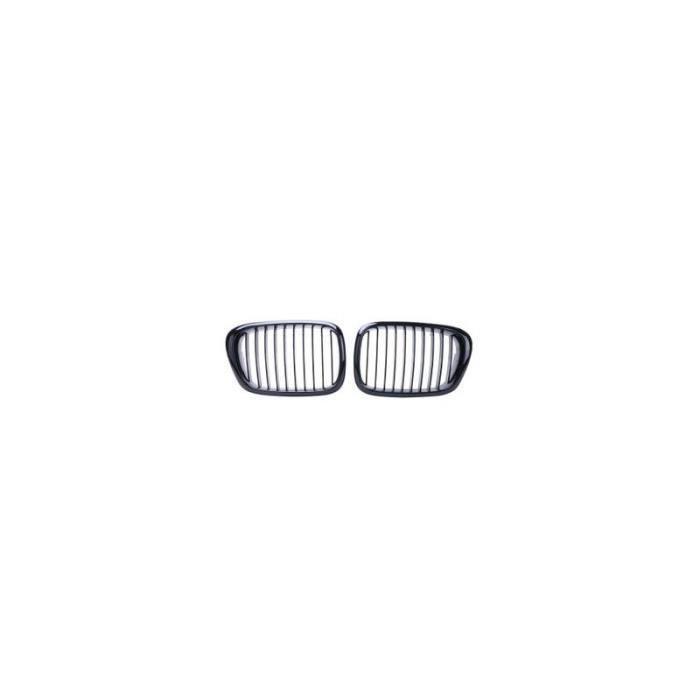 GRILLE DE CALANDRE NOIRE BMW SERIE 5 E39 TOUS MODELES 96-04 DROITE ET GAUCHE