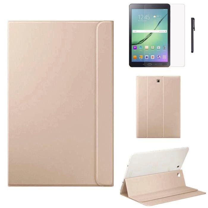 Housse en cuir pour Samsung Galaxy Tab S2 8 pouces