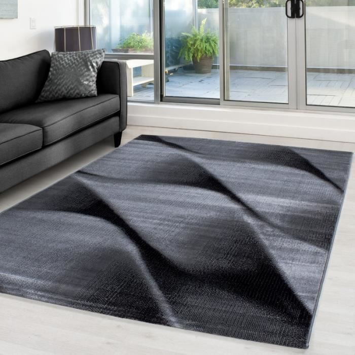 tapis 160x230 achat vente tapis 160x230 pas cher cdiscount. Black Bedroom Furniture Sets. Home Design Ideas