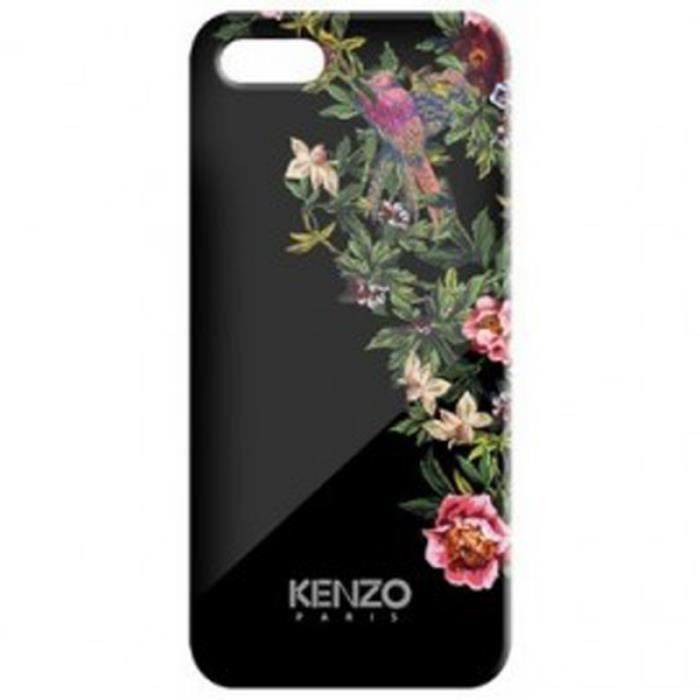 iphone 5 5s coque kenzo exotic noire coque bumper avis et prix pas cher cadeaux de no l. Black Bedroom Furniture Sets. Home Design Ideas