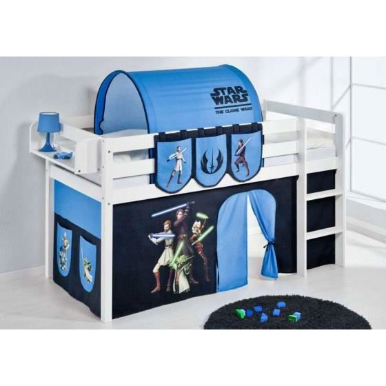 tunnel star wars pour lit enfant achat vente lit combine tunnel star wars pour lit e cdiscount. Black Bedroom Furniture Sets. Home Design Ideas