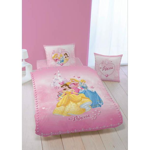 housse de couette les 3 princesses avec taie achat. Black Bedroom Furniture Sets. Home Design Ideas