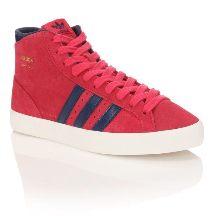 hot sale online da63b 3ddf9 BASKET ADIDAS ORIGINALS Baskets Cuir Profi Log W Femme