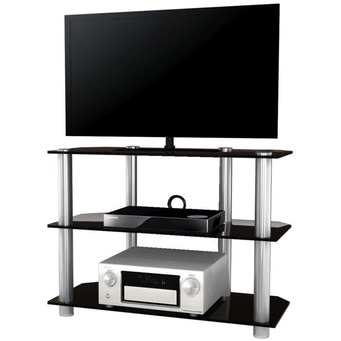 Onata xxl meuble tv hifi video commode rangement verre for Meubles xxl metz