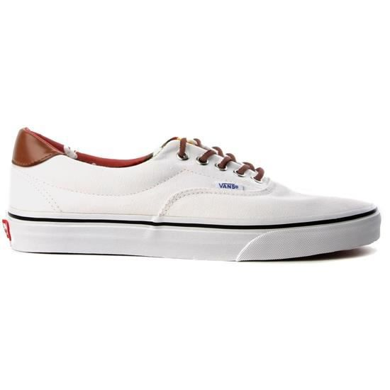 vans era 59 homme blanc achat vente vans era 59 homme pas cher cdiscount. Black Bedroom Furniture Sets. Home Design Ideas