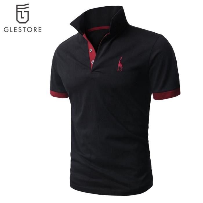 Vêtement Homme Polo de mode Chemise noir