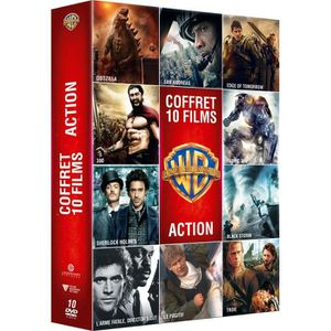 DVD SÉRIE Coffret DVD Action, 10 films
