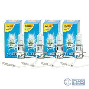 10x h3 Ampoules Lampes Ampoules Voiture pk22s 12 V 55 W UV Filtre e4