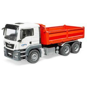 TRACTEUR - CHANTIER Bruder 03765 MAN TGS - Camion benne
