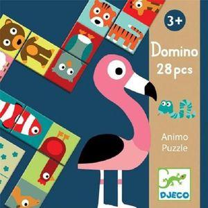 DOMINOS Domino Animo Puzzle
