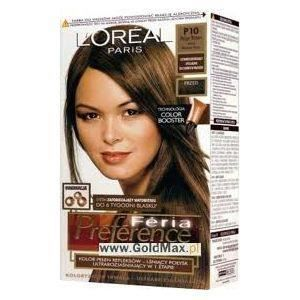 coloration loreal coloration fria prfrence p10 marro - Coloration Preference
