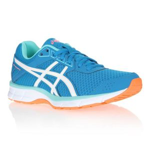 new concept 00d4a 83b21 CHAUSSURES DE RUNNING ASICS Baskets de Running Galaxy - Femme - Bleu ...