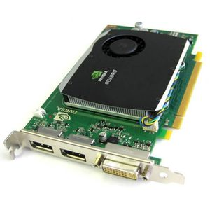 CARTE GRAPHIQUE INTERNE Carte HP NVIDIA Quadro FX580 508283-001 519295-001