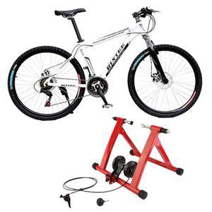 HOME TRAINER Cadre Professionnel d'Entraînement vélo d'intérieu