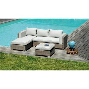 meridienne jardin achat vente meridienne jardin pas cher cdiscount. Black Bedroom Furniture Sets. Home Design Ideas