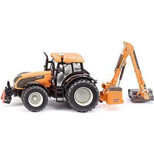 VOITURE - CAMION SIKU Valtra Tracteur et Faucheuse en métal - Echel