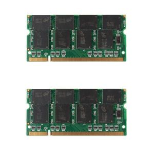 MÉMOIRE RAM 2G (2x 1 G) DDR 333 Mhz PC2700 Non-ECC Cl2.5 Memoi
